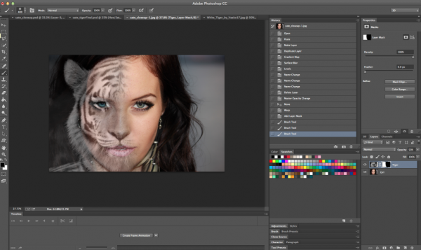 Photoshop tutorials for beginners masking