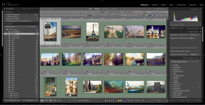 what is lightroom good for - organize images