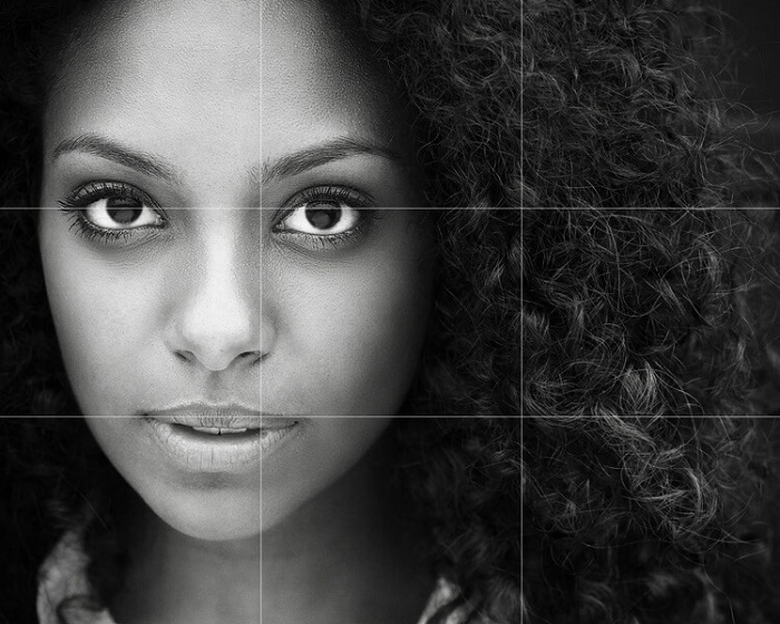 How to Take a Selfie - rule of thirds in portraiture