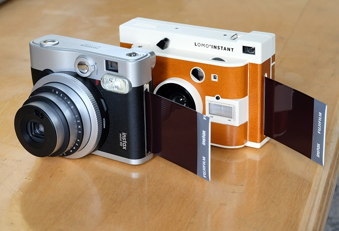 instant film camera from Lomography