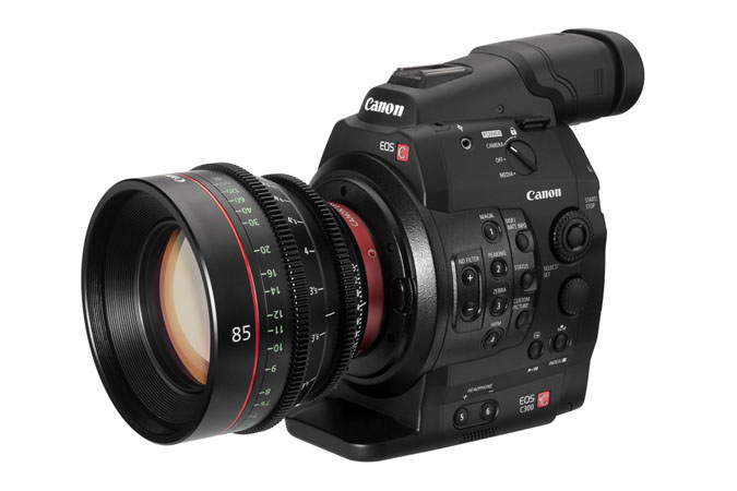 Canon C300 camcorder