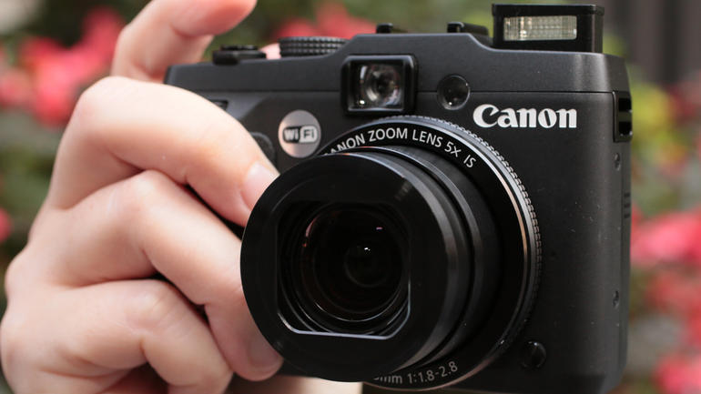 Canon G16 with built-in Wi-Fi