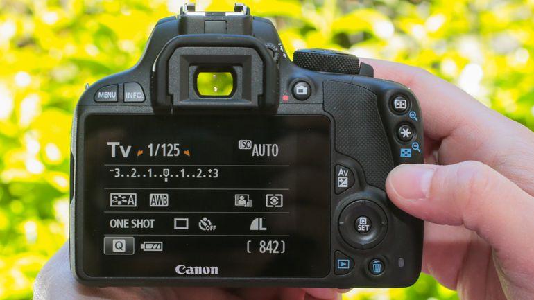 Canon SL1 Rebel Touchscreen