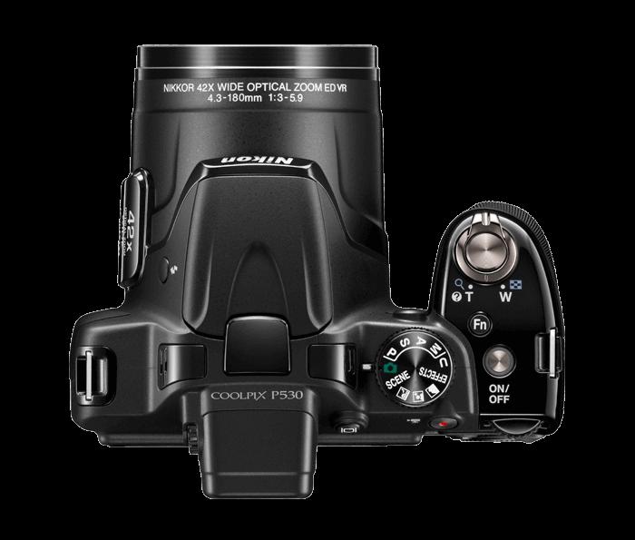 Nikon COOLPIX P530 controls