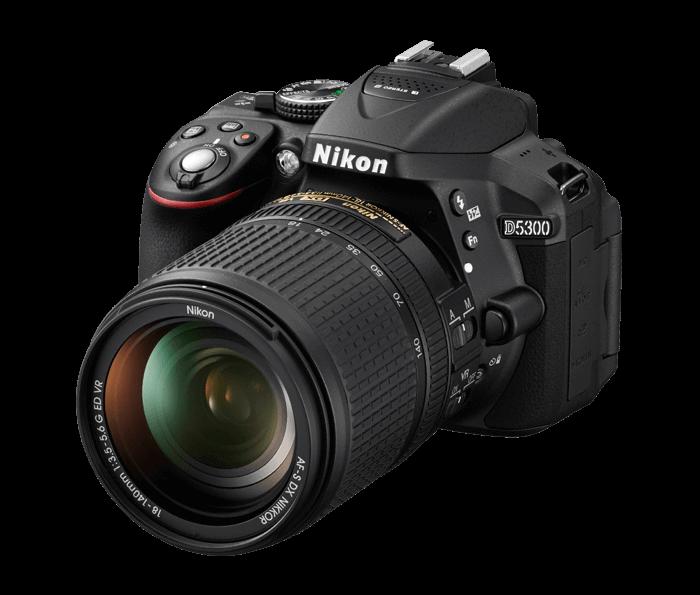 Nikon D5300 SLR camera