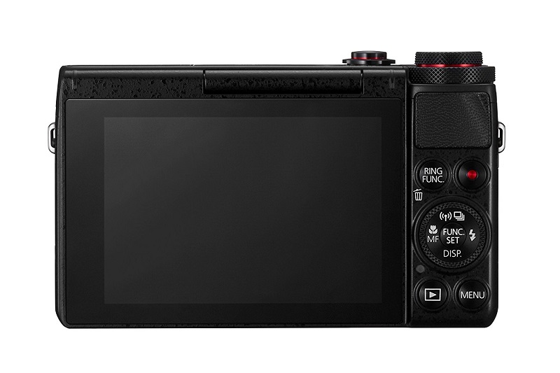 Canon G7X touchscreen LCD