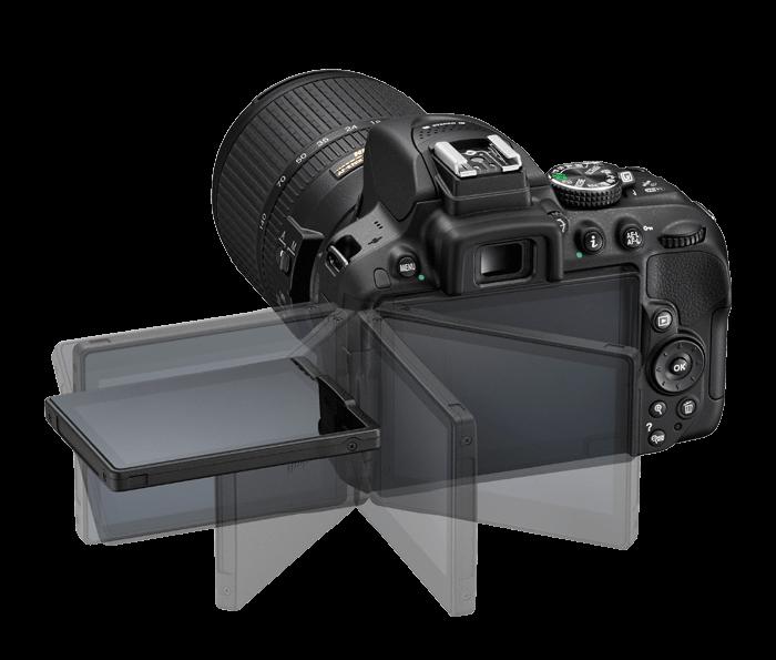 Nikon D5300 vari-angle screen