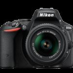 Nikon D5500 front