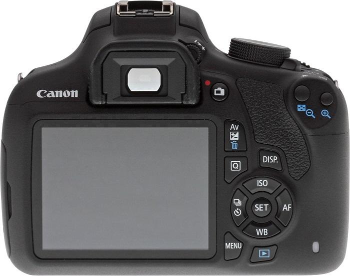 Canon T5 dispay