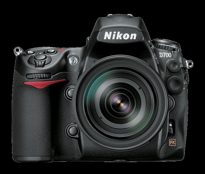 Nikon D700 camera front view