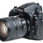 Nikon D700 and lens