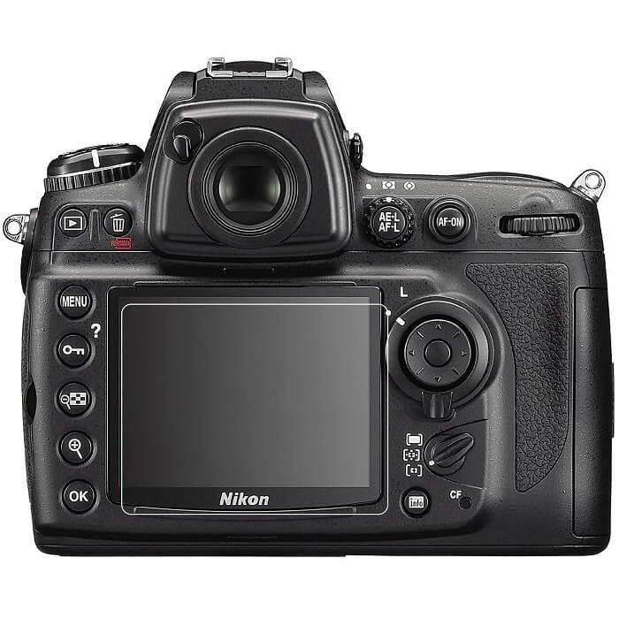 Nikon D700 rear view