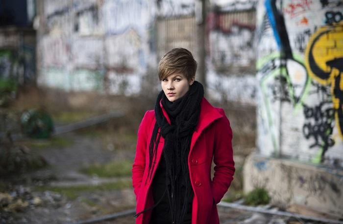 portrait taken with NIKON D700