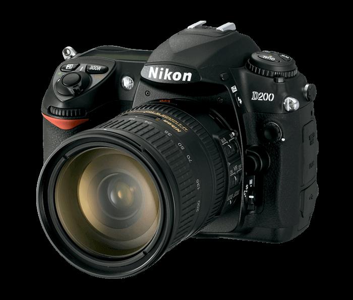 Nikon D200 photo camera
