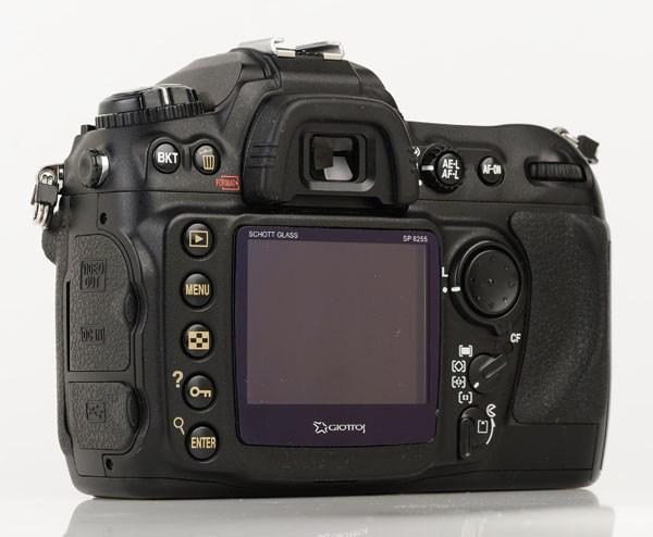 Nikon D200 display