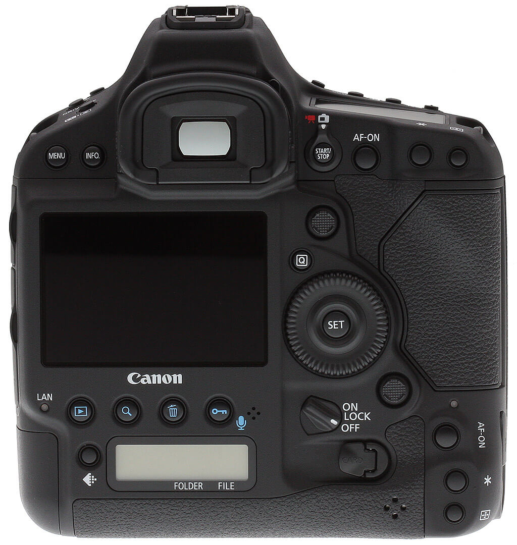 Canon 1DX display