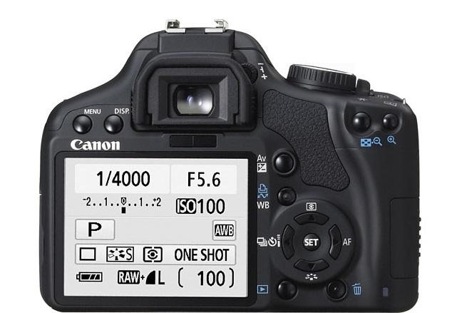 Canon EOS Rebel XSi back