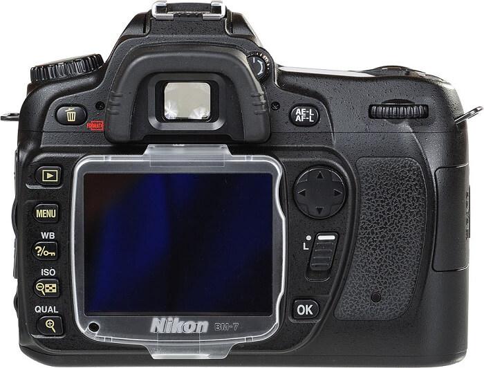 Nikon D80 LCD monitor