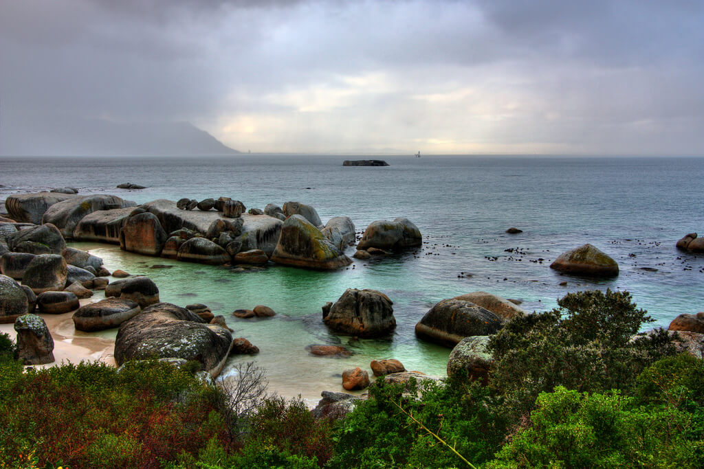 Boulders Beach near Cape Town, South Africa