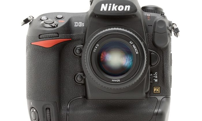 Nikon D3S body and lens