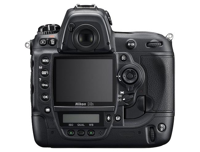 Nikon D3S display