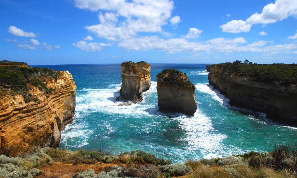 Great Ocean Road photographed with Nikon D40x
