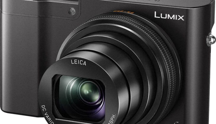 Panasonic Lumix ZS100 front view