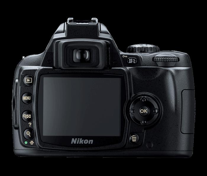 Nikon D40 display