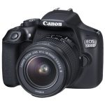 Canon 1300D body and lens