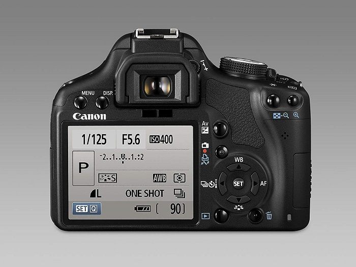 Canon 1300D display