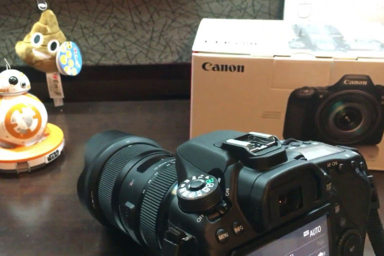 Canon 80d - Autofocus