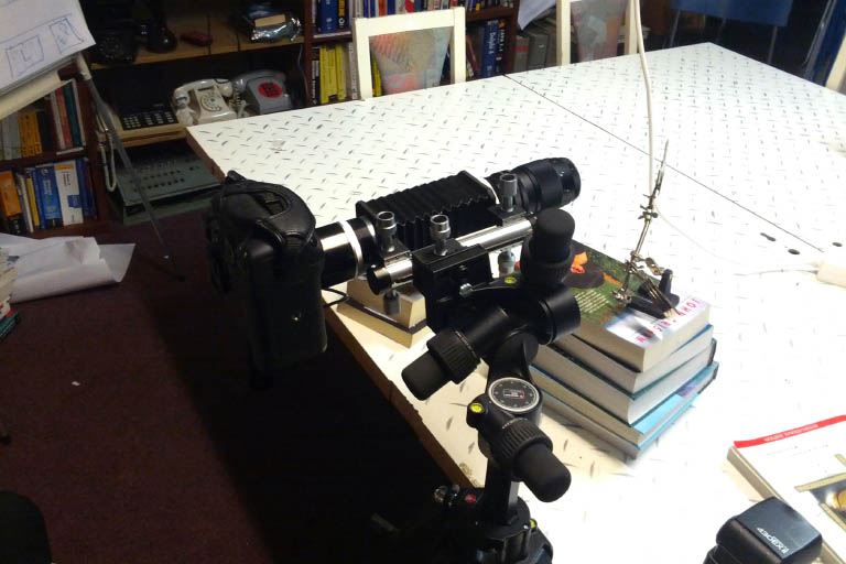 camera set up for macro photography