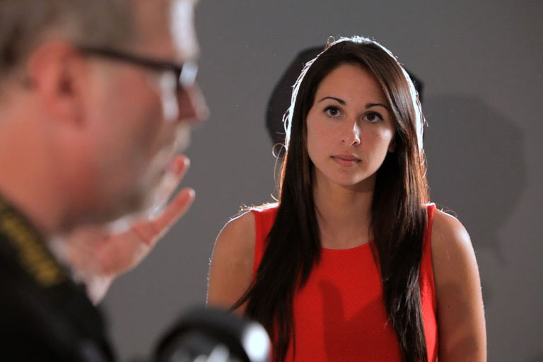 Portrait Photography - Not Talk To Your Subject