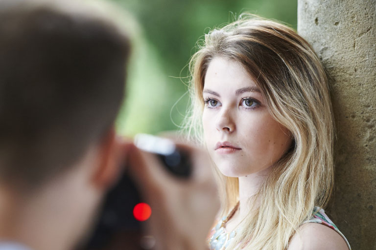 Portrait Photography - Play With Focus, Angles, And Movement