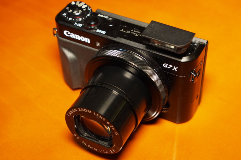 The Canon G7 X Mark II