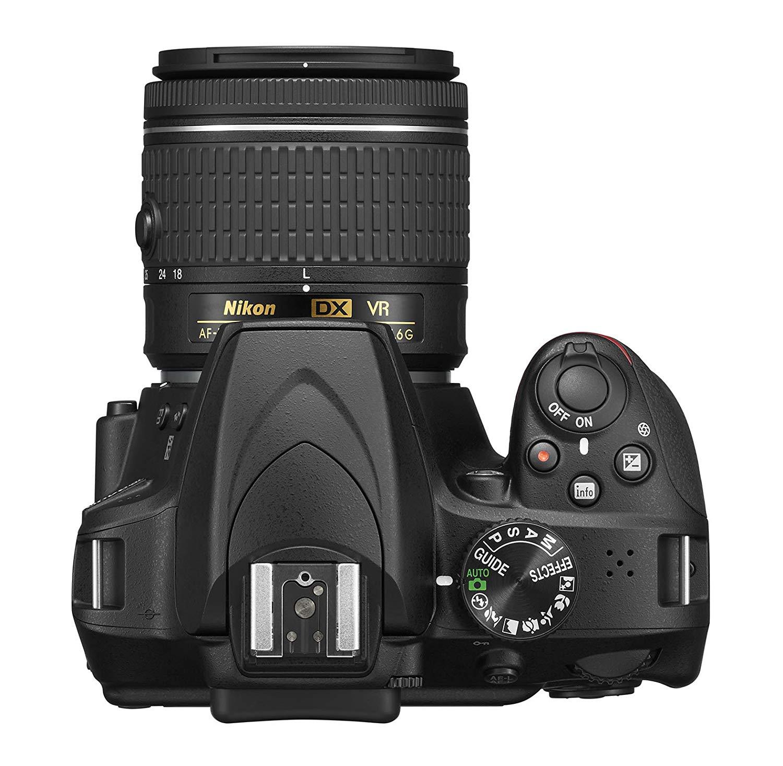 Nikon D3400 Top View